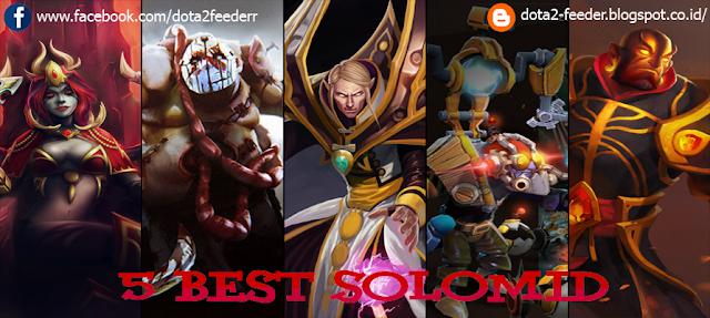 5 Best Hero SoloMid versi DOTA 2 INDONESIA