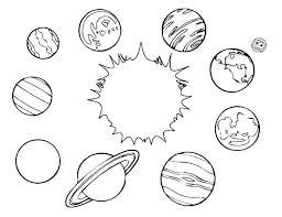 sistema solar desenho para imprimir full hd maps locations