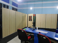 Sekat Partisi Interior Ruang Lobi Kantor - Furniture Semarang