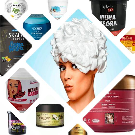 mascaras cabelo low poo hidratacao