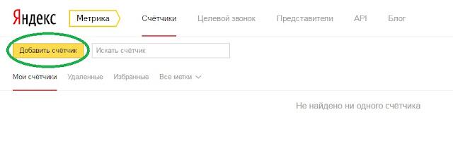 Как добавить счетчик Яндекс Метрика