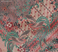 Wonderful Art Of Batik Indonesia, motif burung pada batik.