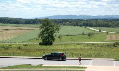 Oak Ridge Hill - Gettysburg Battlefield