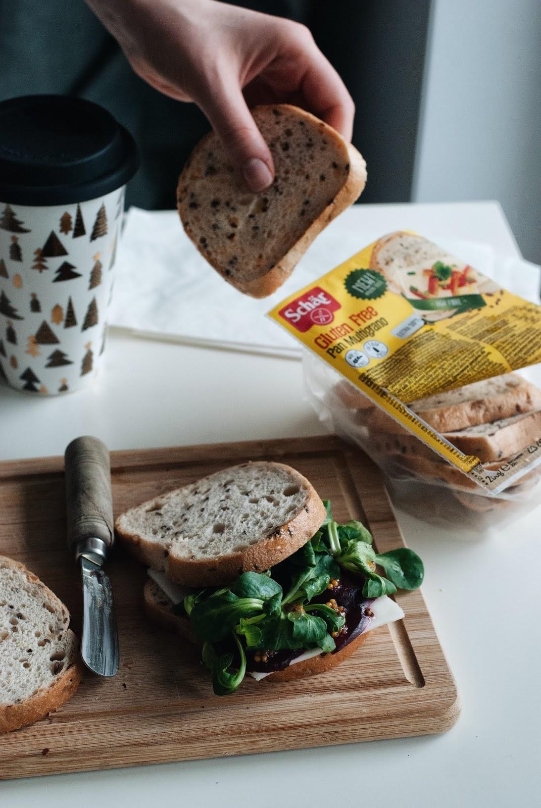 Kanapki z chleba bezglutenowego