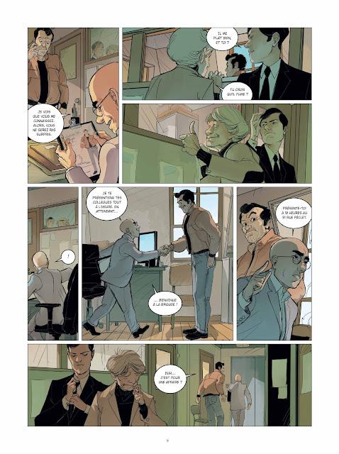 """Brigade Verhoeven tome 1 """"Rosie"""" page 9 aux éditions Rue de Sèvres"""