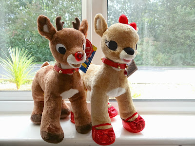Build a Bear Workshop, Rudolf cuddly toy, rudolf the red nose reindeer