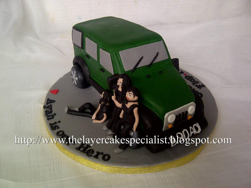 MrsHo Jeep Cake