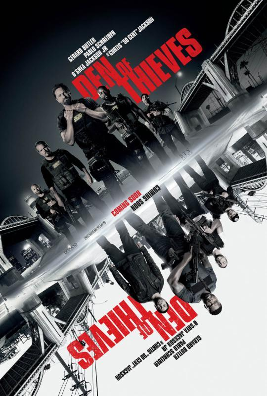 DOWNLOAD: Den Of Thieves (2018) 720p HD (mp4/mkv)