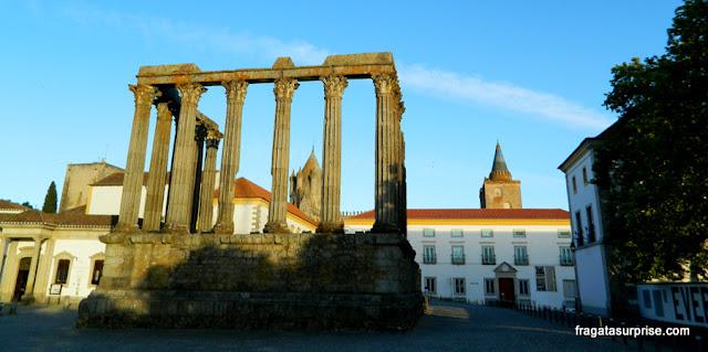 Templo Romano, Évora, Portugal