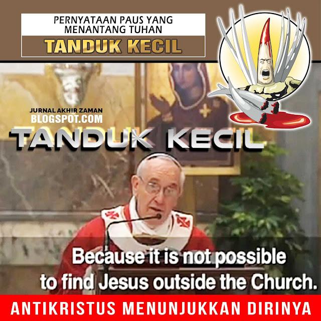 TUHAN YESUS TERANG DUNIA: TANDUK KECIL