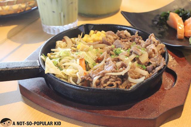 Beef Teppanyaki of Kenshin Japanese Izakaya