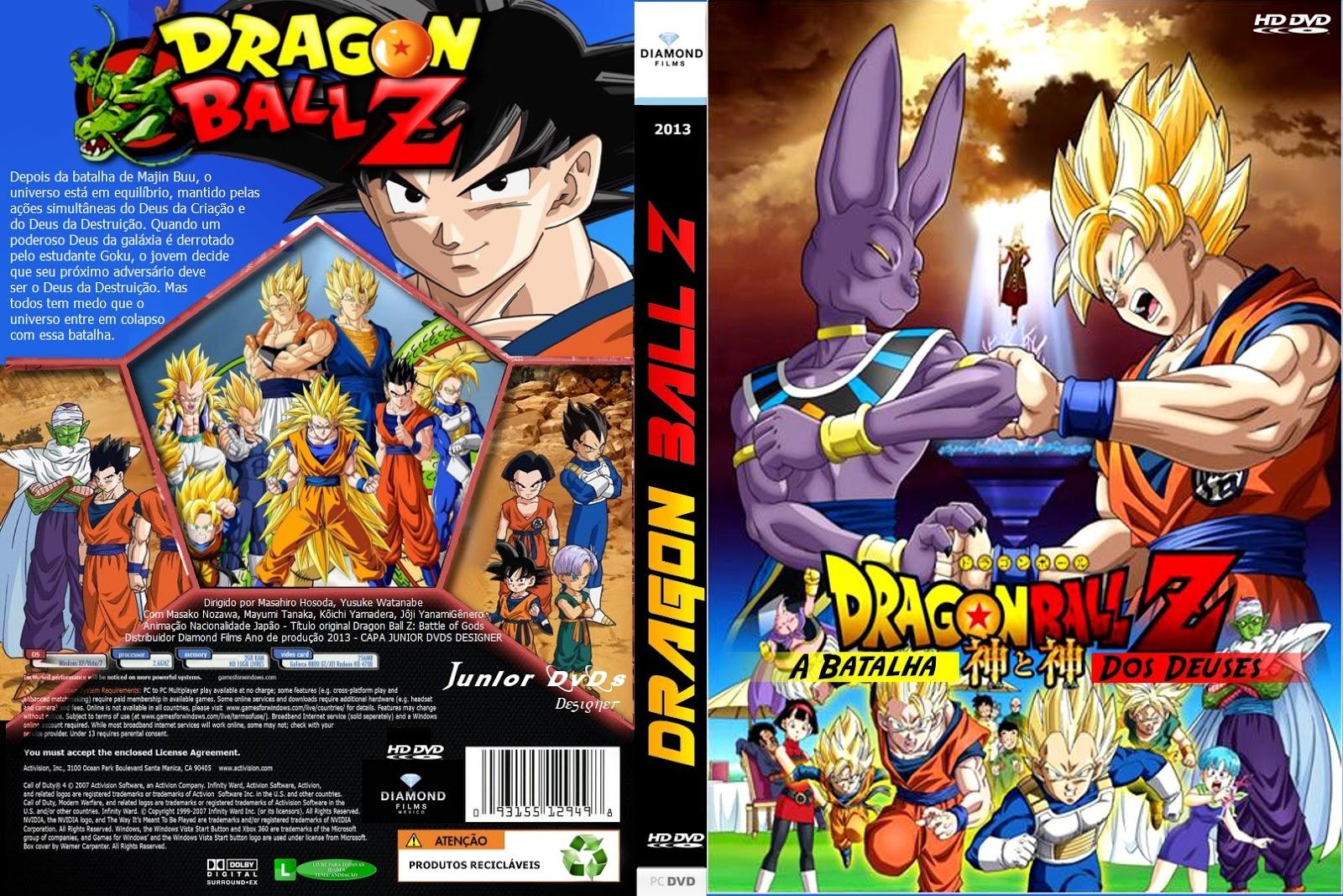 dragon ball z batalha dos deuses dublado rmvb