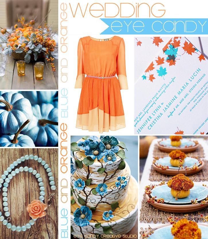 Ruche Wedding Wednesday Creative Lighting Ideas: Eye Candy Creative Studio: WEDDING :: Light Blue & Orange