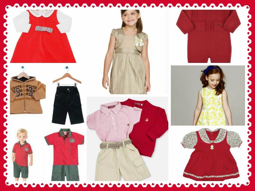 Look Natalino - Roupas para bebês e Crianças Usarem no Natal