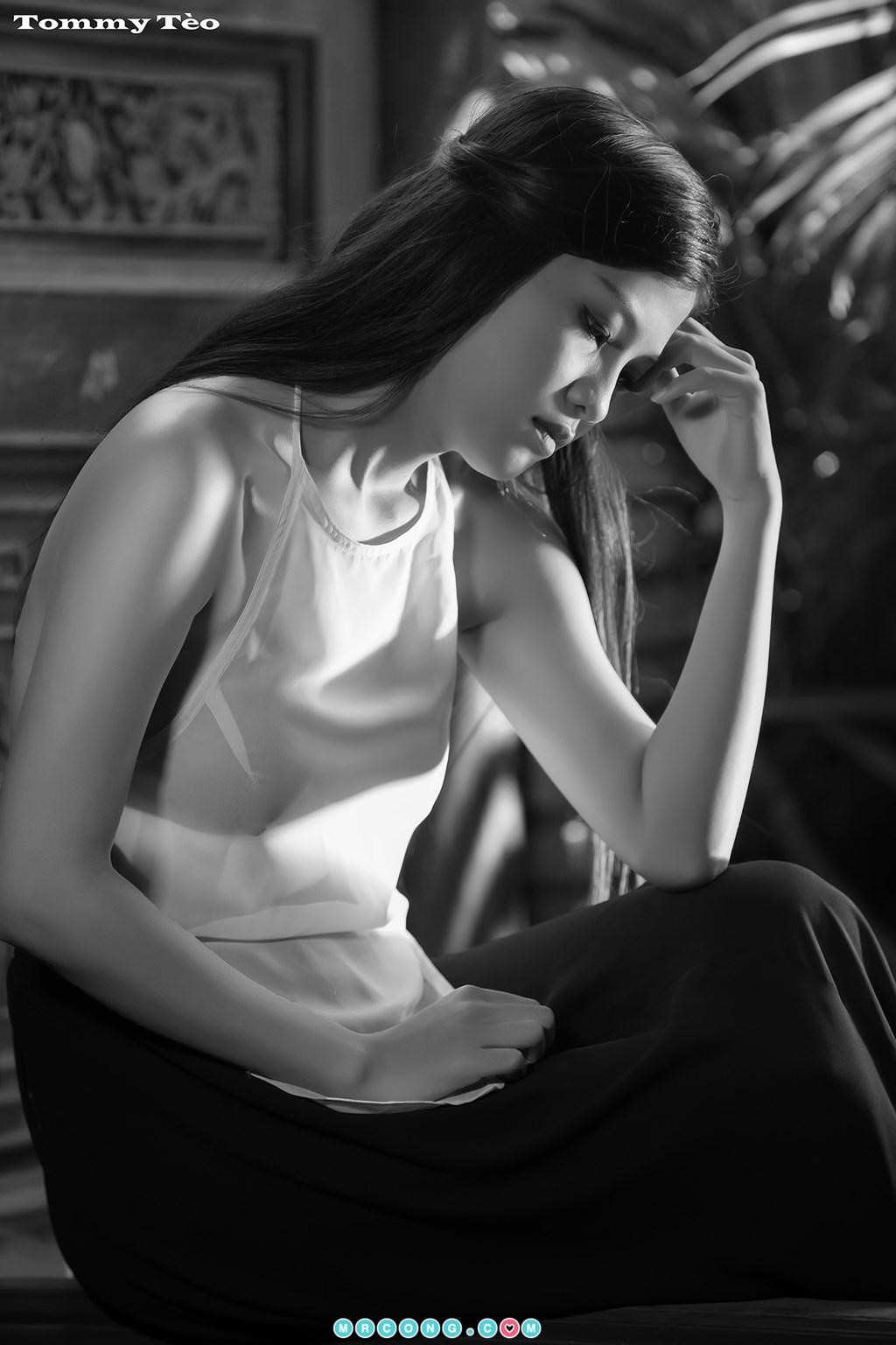 Image Nhung-Nguyen-by-Dang-Thanh-Tung-Tommy-Teo-MrCong.com-006 in post Nóng cả người với bộ ảnh thiếu nữ thả rông ngực mặc áo yếm mỏng tang (19 ảnh)