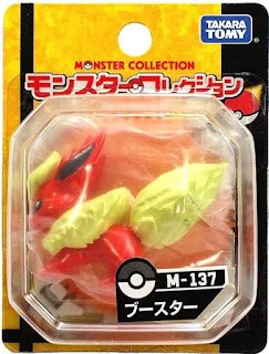 Flareon figure Takara Tomy Monster Collection M series