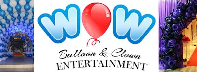 MAJLIS NAMPAK CERIA DENGAN BELON dari WOW Clown & Balloon Specialist