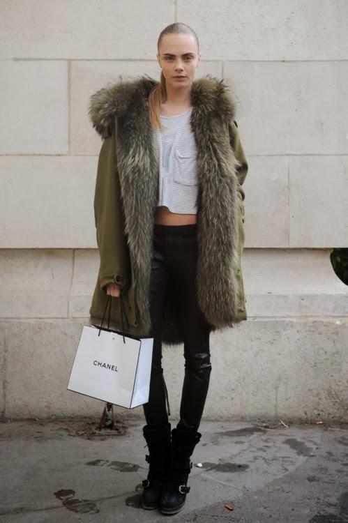 Fashion Inspiration | Cara Delevingne: Grunge style