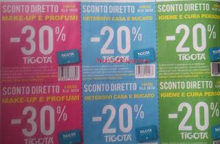 Logo Da Tigotà scegli il tuo sconto del 20 e 30%