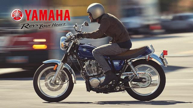 Yamaha SR400, Motor Old School Yamaha