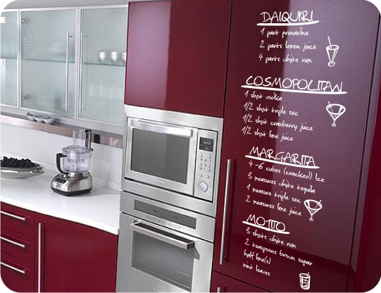 Decoraci n f cil decorar la cocina con vinilos - Pegatinas para cocinas ...