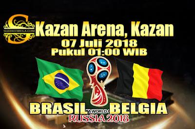 AGEN BOLA ONLINE TERBESAR - PREDIKSI SKOR PIALA DUNIA 2018 BRASIL VS BELGIA  07 JULI 2018