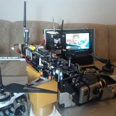 Drone Fotografi Hewdig 2 selesai dirakit (2013)