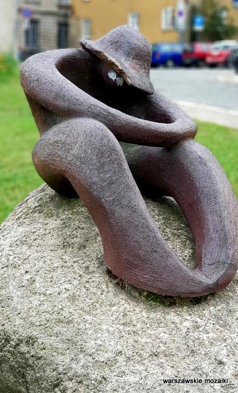 rzeźba Warszawa Warsaw Rybaki