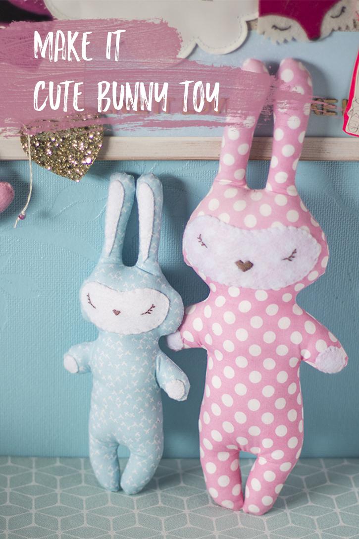 Make it: Cute Bunny Toy