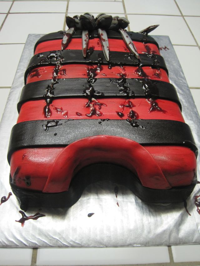 Your Happy Baker Freddy Krueger Birthday Cake
