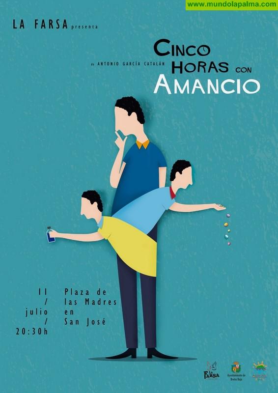 """SANTA ANA: Teatro, """"Cinco Horas con Amancio"""""""