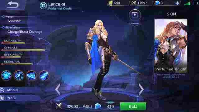 Lancelot Build, Skill, Harga, Ability, Set Emblem Yang Cocok, Hingga Tips - Tips Menggunakannya