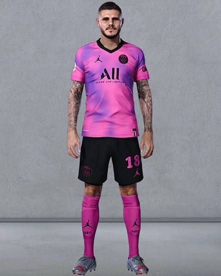Jordan Paris Saint Germain 2021 Concept Fourth Kit Footy Headlines