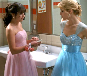 Follow Your Dreams I Just Love Glee's Prom Quinn's Dress