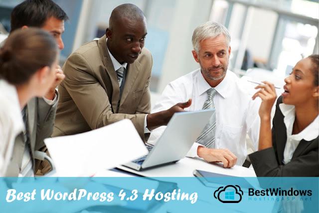 WordPress 4.3 Hosting