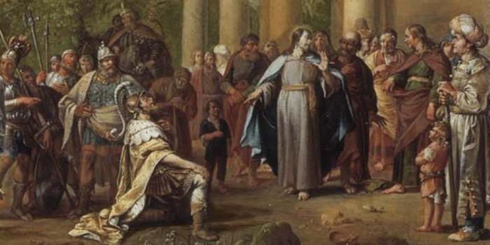 Jezus wobec duchowej agonii człowieka