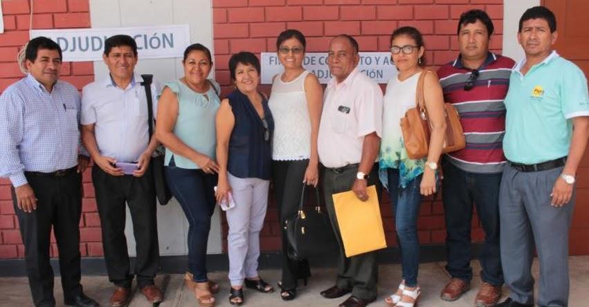 UGEL Chulucanas integra nuevos directivos a la gestión escolar