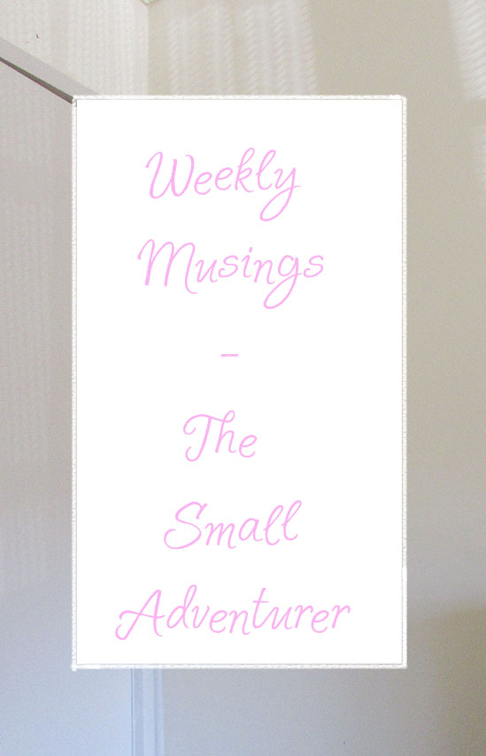 Weekly Musings || The Small Adventurer