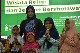 Bupati Faida Ajak Jamaah Muslimat Dorong Anak Anak Hingga Jenjang Ke PT