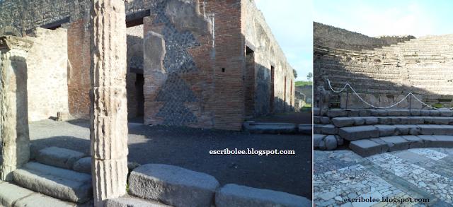 Viaje a Roma: Pompeya, teatro