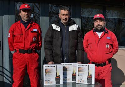 """Ελληνικός Ερυθρός Σταυρός Κατερίνης - Δωρεά εξοπλισμού από την Ακαδημία Ποδοσφαίρου """"Εντός Έδρας"""""""