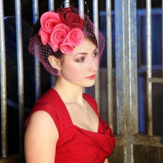 Bristol Vintage Wedding Fair: LISA VON HALLWYL MILLINERY