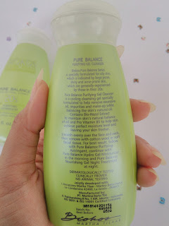 Biokos Pure Balance Purifying Gel Cleanser, Purifying Astringent, and Hydro Gel Moisturizer review