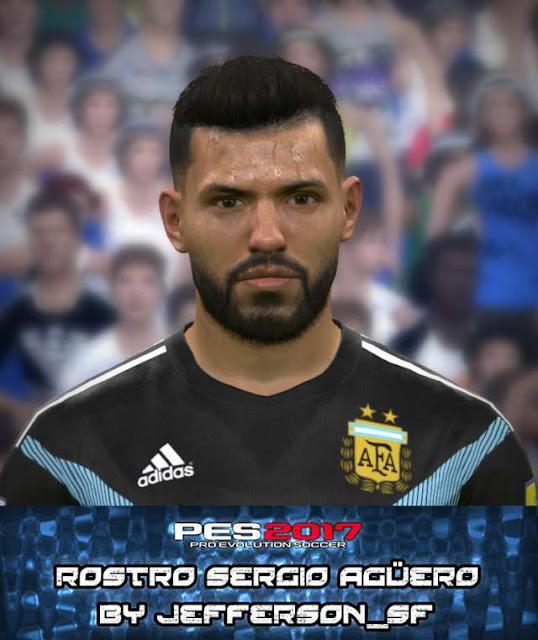 Sergio Aguero New Face PES 2017