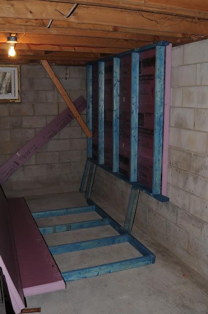Attaching Wood To Concrete Basement Garage Framing