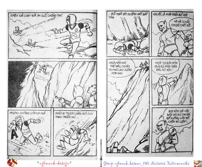 Dũng Sĩ Hesman tập 2 - hesman xuất hiện trang 4