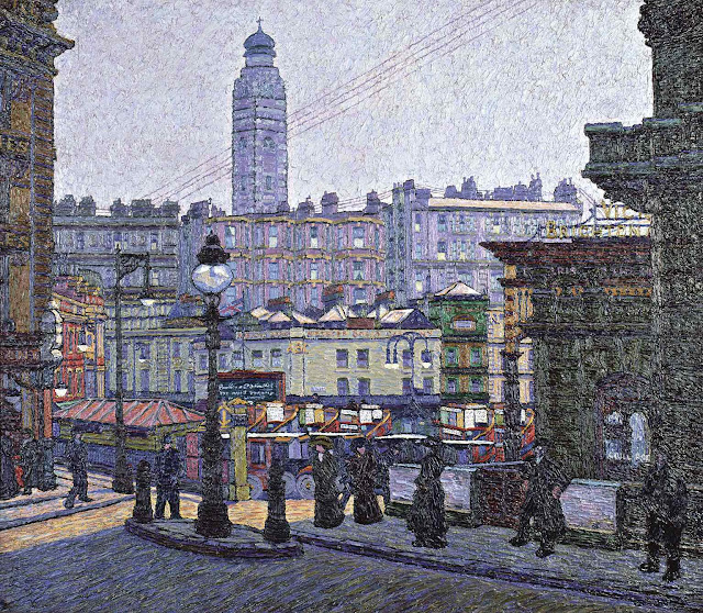 a Charles Ginner 1913 painting