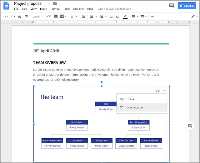 Masukan file slides ke dalam Google docs