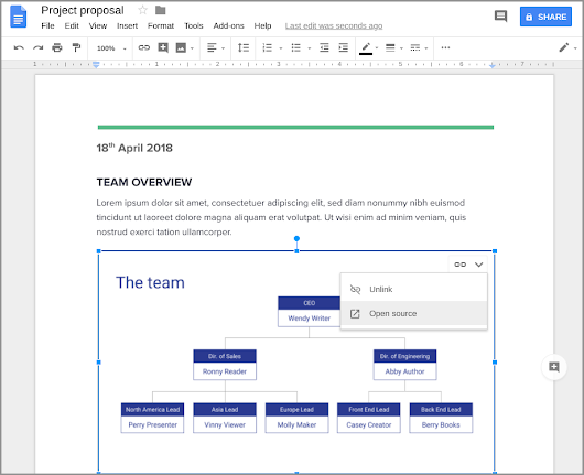 New in Google Slides: linking in Docs, guides and rulers, and improved commenting