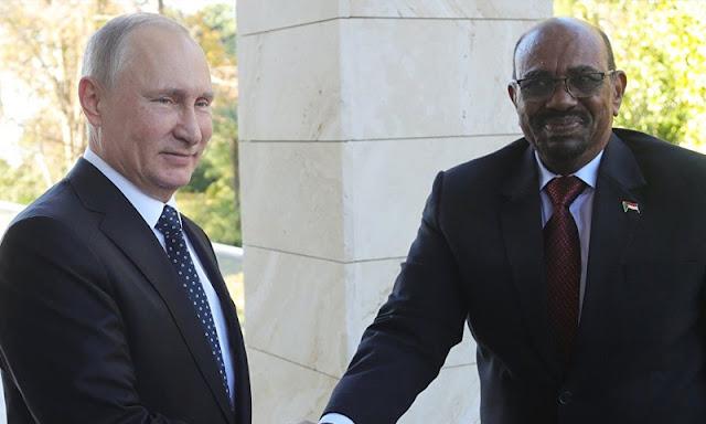 البشير من موسكو: روسيا أنقذت سوريا ولا حل دون الأسد